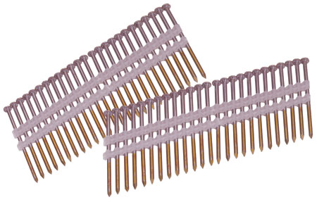17 degree plastic collated framing nails