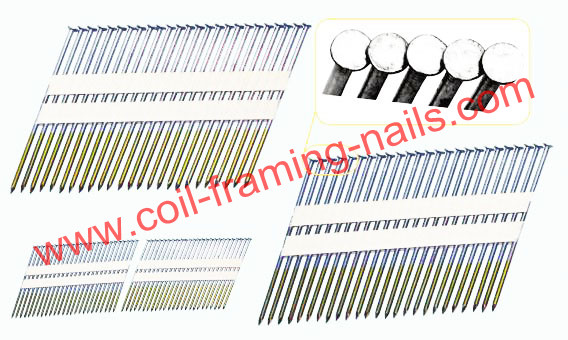 21 degree paper strip nails | NC nails & nailers