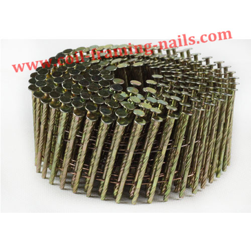 Electroplate coil nails (electro galvanized)