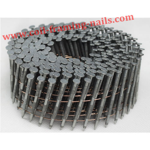 coil nails mechanical plating finish ring shank