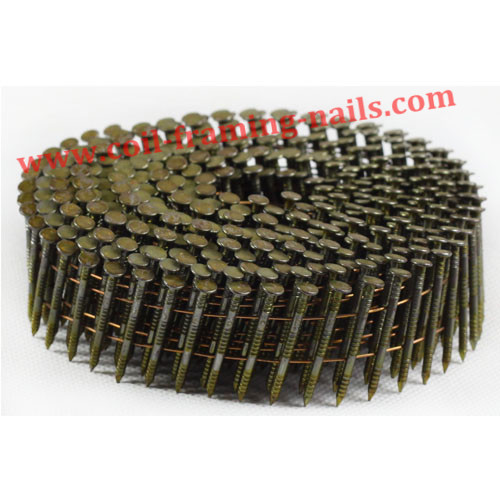 High quality coil nails with anti-rust finish