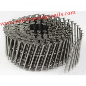 "<h3> Coil nails ring shank</h3>    <a href=""http://www.coil-framing-nails.com/coil-nails-ring-shank/"">stainless ring shank</a>"