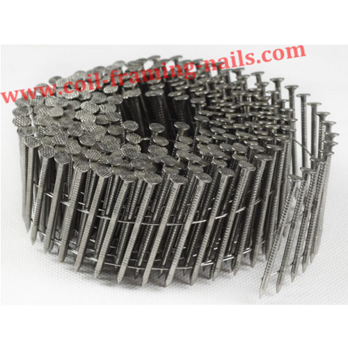 stainless ring shank coil nails