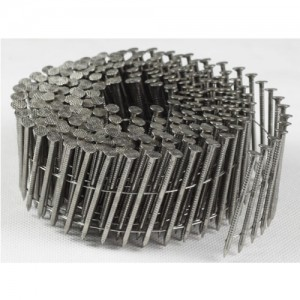 """<h3> Coil nails ring shank</h3>  high quality stainless steel coil nail   <a href=""""http://www.coil-framing-nails.com/coil-nails-ring-shank/"""">stainless-steel-coil-nail</a>"""